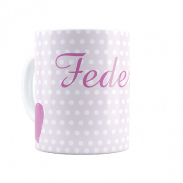 Mug with text personalized...